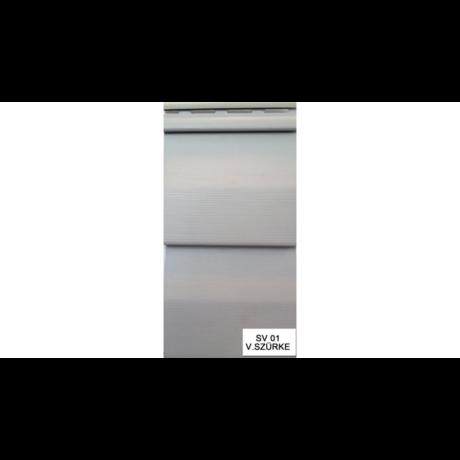 Kültéri falburkoló S-01 szürke